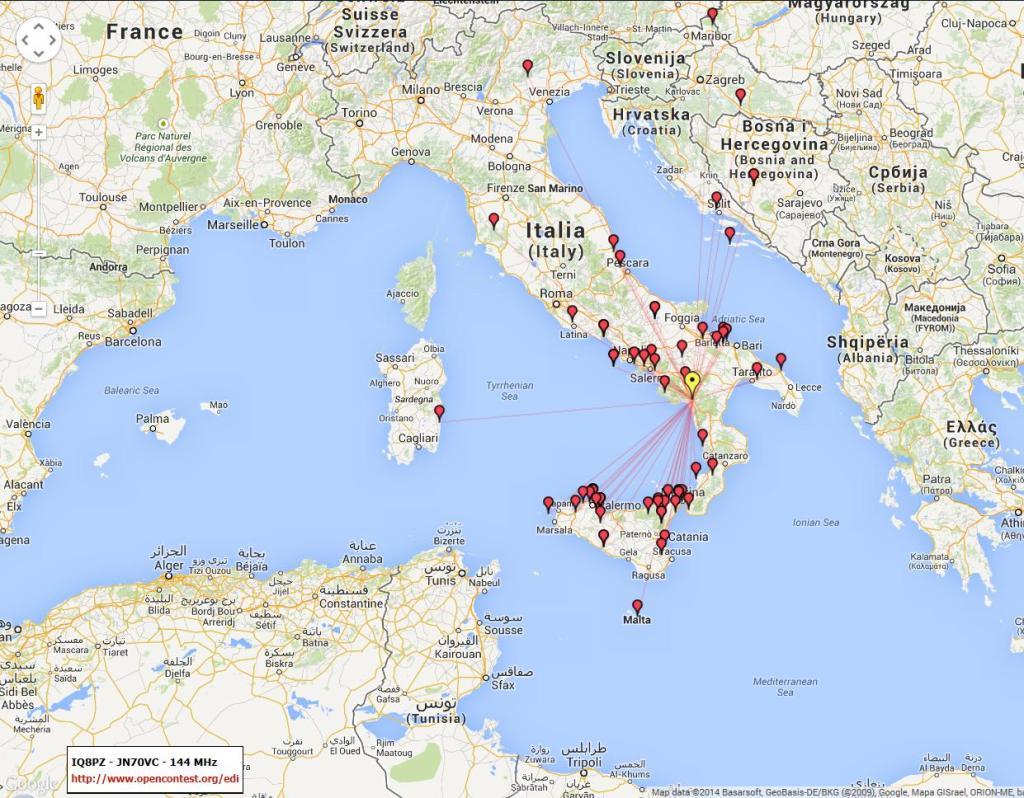 mappa collegamenti